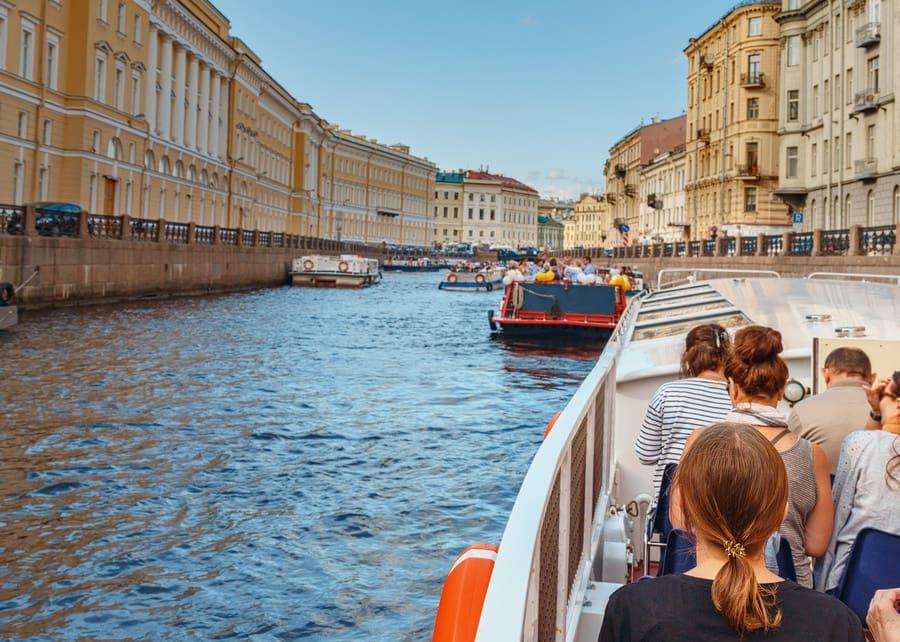 Экскурсия по каналу Грибоедова (Екатерининский канал) 2021