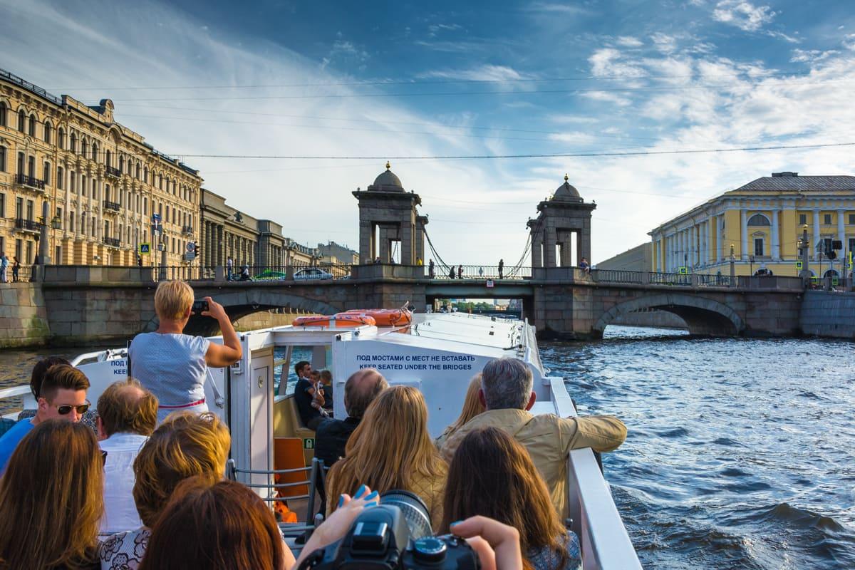 Экскурсия по каналам Санкт-Петербурга Северная Венеция